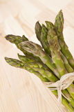 Fresh asparagus bundle. Stock Images