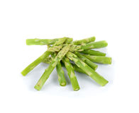 Fresh asparagus isolated onwhite background Stock Image