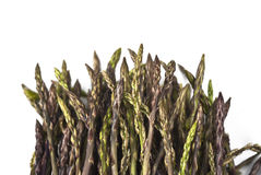 Fresh asparagus isolated Stock Photos