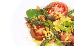 Fresh asparagus salad. Royalty Free Stock Photo