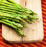 Fresh Asparagus Sprouts Stock Image