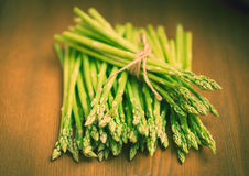 Fresh asparagus Royalty Free Stock Photos