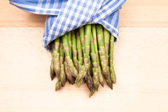 Fresh asparagus stems Royalty Free Stock Photo