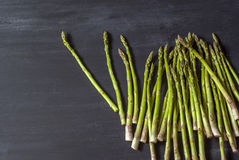 Fresh asparagus on the table Royalty Free Stock Photography