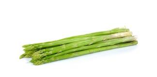 Fresh asparagus  on  white background Stock Photos