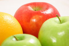 Fresh assorted Fruits. Fresh fruits rich in vitamins and antioxidants Stock Photography