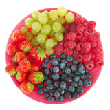 Fresh assortment colorful fruit Royalty Free Stock Images