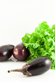 Fresh aubergine Royalty Free Stock Photography