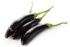 fresh aubergine Royalty Free Stock Photos