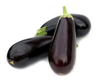 Fresh aubergine Stock Photos