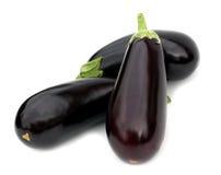 Fresh aubergine Stock Photos