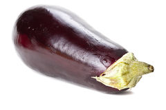 Fresh aubergine isolated Royalty Free Stock Photo