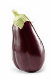 Fresh aubergine isolated on a white. Royalty Free Stock Images