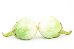 Fresh aubergine Royalty Free Stock Photos