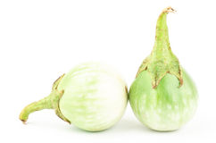 Fresh aubergine Stock Photography