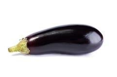Fresh aubergine on a white background Stock Photos