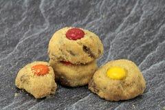 Australias famous cookies. Fresh australias famous cafe cookies royalty free stock image