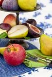 Fresh autumn fruit Royalty Free Stock Image