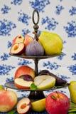 Fresh autumn fruit Stock Images