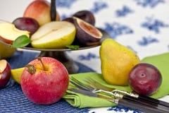Fresh autumn fruit Royalty Free Stock Photos