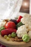Fresh autumn produce and vegetables Royalty Free Stock Photos