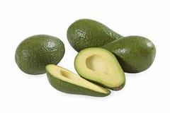 Fresh avocado. On white background stock photo