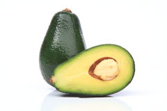 Fresh avocado Stock Photography