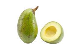 Fresh avocado. On white background Royalty Free Stock Images