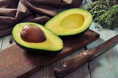 Fresh avocado Stock Image