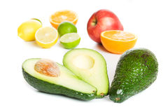 Fresh avocado fruit Stock Photography