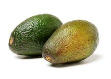 Fresh avocado fruit. Isolated on white background Royalty Free Stock Image
