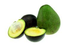 Fresh avocado fruit isolated Royalty Free Stock Photography