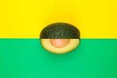 Fresh avocado Stock Photography