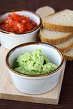 Fresh  avocado guacamole Royalty Free Stock Photography