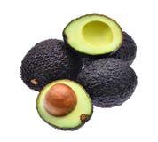 Fresh avocado isolated on white background Royalty Free Stock Photo