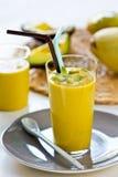 Avocado with Mango smoothie Stock Images