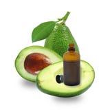 Fresh avocado oil Royalty Free Stock Photos