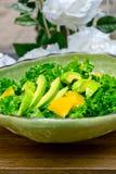 Fresh avocado salad Stock Photo