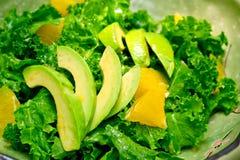 Fresh avocado salad Stock Image