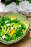 Fresh avocado salad Stock Photography