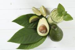 Fresh avocado smoothie Royalty Free Stock Photo