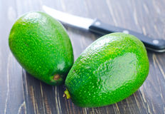 Fresh avocado Royalty Free Stock Photos