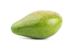 Fresh avocado. On white background Stock Image