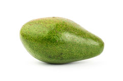 Fresh avocado. On white background Royalty Free Stock Photography