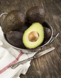 Fresh avocado Stock Images