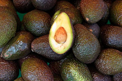 Fresh avocados Stock Images