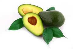 Fresh avocados Royalty Free Stock Photography