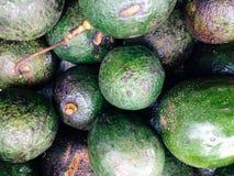 Fresh avocados background Stock Photos