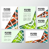 Fresh background flyer style background Design Template Stock Photos