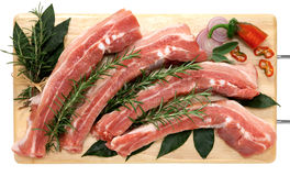 Fresh bacon Stock Photos